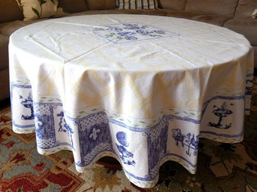 60 Round Tablecloth Ebay