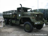 looking to buy Old military vehicle