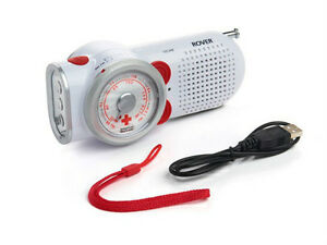 Eton-American-Red-Cross-Rover-Self-Powered-Weather-Radio-ARCPT200W-Brand-New