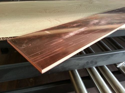 "1/8"" x 3/4"" Copper Flat Bar x 24"" Long"