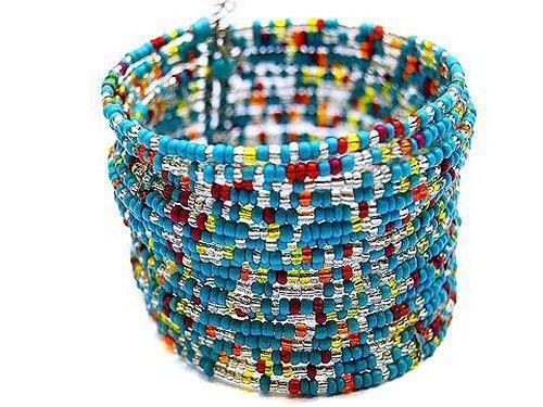 beaded cuff bracelet ebay