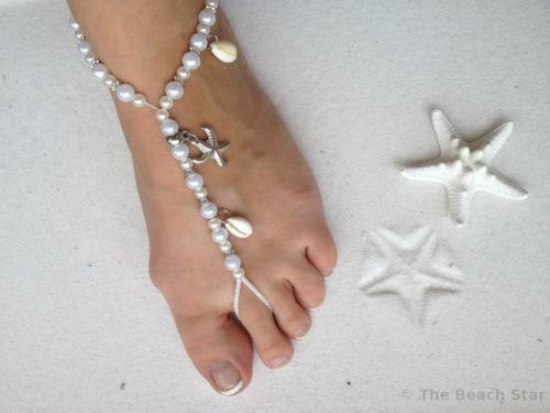 Beach wedding shoes ebay beach wedding sandals junglespirit Gallery