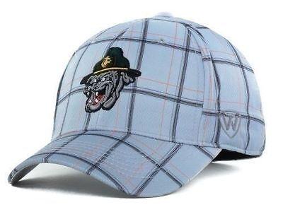U.S. Marines Bulldogs NCAA Top of the World Plaid Flex Fit hat cap one size