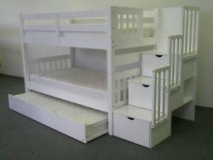 SOLID BUNK BEDS,TRUNDLE BEDS,DAY BEDS,CAPTAIN BEDS,STAIRCASE BUNK BEDS,LADDER BUNK BEDS, BUNK BED MATTRESS AND MORE!!!!!
