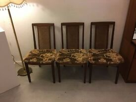 4 x midcentury chairs