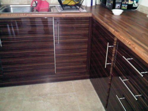 howdens kitchen doors ebay. Black Bedroom Furniture Sets. Home Design Ideas