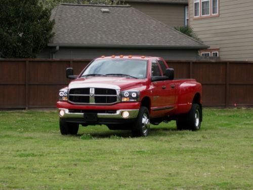 2007 dodge ram 3500 standard transmission