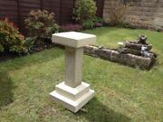 Stone Bird Table