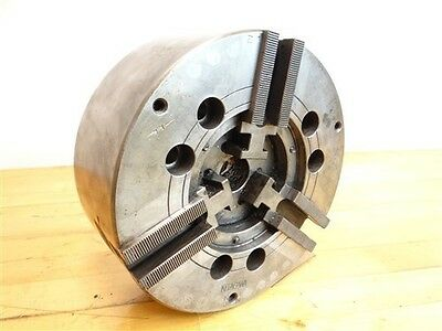 Very Nice Kitagawa N-8 Hydraulic Power 3 Jaw Chuck