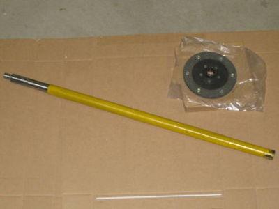 31 Driveshaft And Clutch Friction Plate For Ih International 154 Cub Lo-boy