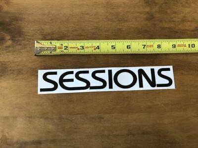 15cm x 2.3cm 2 x Burton Logo Snowboard Decal Stickers in Black Gloss