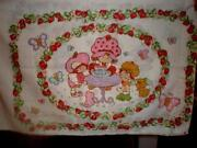Vintage Strawberry Shortcake Bedding