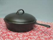 Cast Iron Deep Skillet