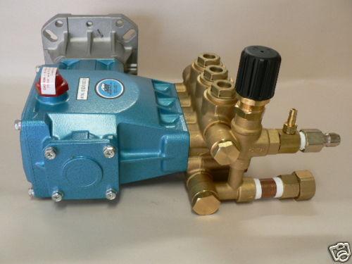 Cat Pumps model 66DX40G1I ceramic plunger triplex pump