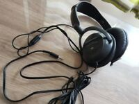 Panasonic RPHT225 Over Ear Headphones - Black / Hardly used in great condition