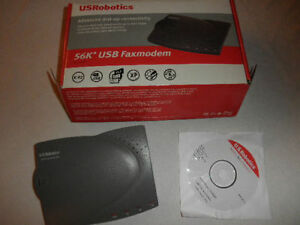 Produit Neuf - US Robotics - 56K USB Fax Modem - New Sealed Box