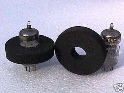 Tube Damper Pair (2) 9 Pin Miniature fit 12AX7 6DJ8 ECC83, etc.