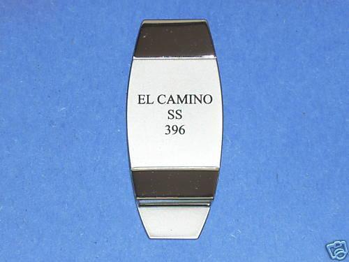 EL CAMINO  SS / 396 -  money clip ORIGINAL BOX