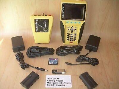 Jdsu Test-um Validator Nt Cable Tester Certifier Validator Nt950 Warranty