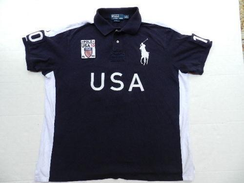 Mens Big Pony Polo Shirts