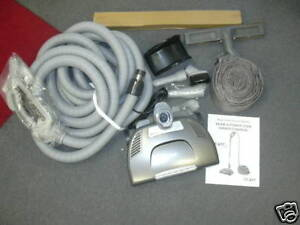 Beam 30 ft Q cleaning set Power Team Central Vacuum hose kit direct connect kit