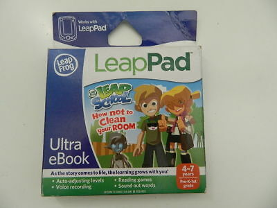 How Not to Clean Your Room LeapPad Ultra eBk Leap School Reading Game New