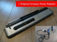 HP Compaq Port Replicator Docking Station PR1000 + Power Supply for EVO NC610C/NC620C & Others