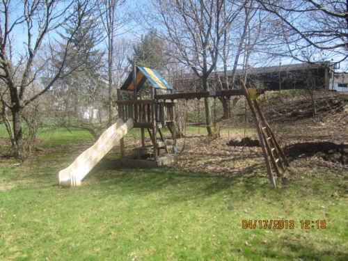 Used Rainbow Swing Sets Ebay