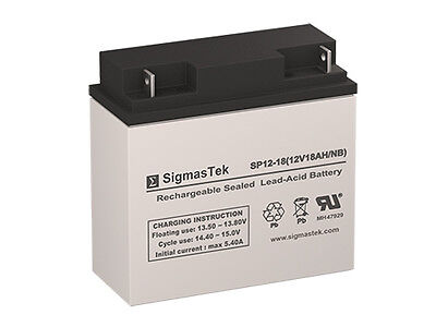 Enersys Np18 12B Battery Replacement By Sigmastek