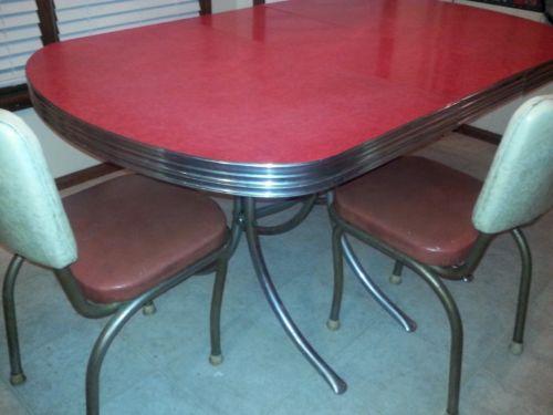 Retro Kitchen Table Ebay
