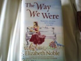 BEST SELLER!! THE WAY WE WERE BY ELIZABETH NOBLE HAND SIGNED BY AUTHOR £20.00