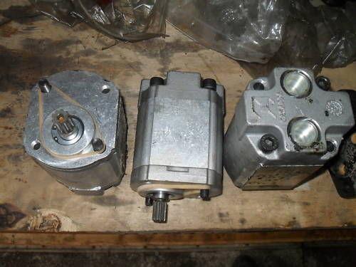 Jcb hydraulic pump ebay for Hydraulic pump and motor combination