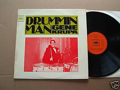 GENE KRUPA - DRUMMIN' MAN  - LP - CBS BPG 62290