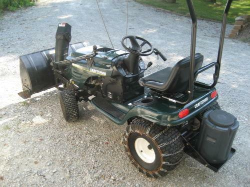 Craftsman Lt1000 lawn tractor Service manual on