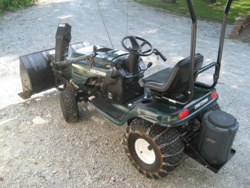 Craftsman Lt1000 Riding Mower : Craftsman lt lawnmowers ebay