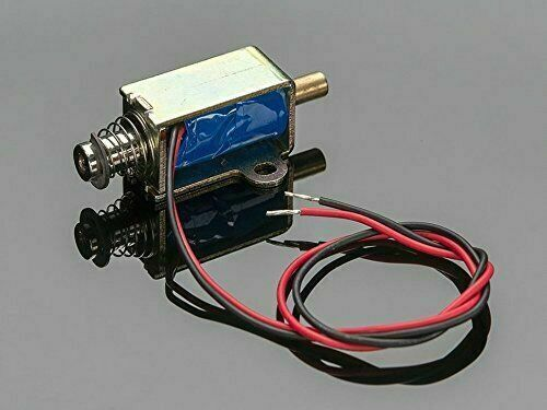 [3DMakerworld] Adafruit Small Push-Pull Solenoid - 12VDC