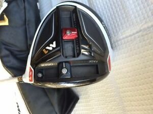 TaylorMade M1 Driver 9.5 degree with Custom Aldila Stiff Shaft London Ontario image 2