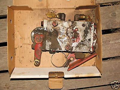 Cockshutt Gambles Hydraulic Control Box