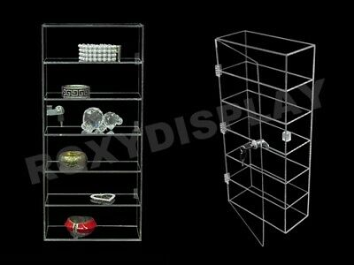 Clear Acrylic Display Tower Case Jw-ad-f1022