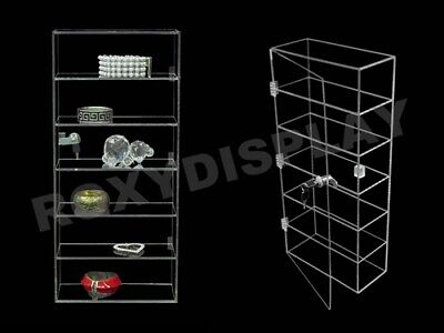 Clear Acrylic Display Tower Case Jw-ad-f1022
