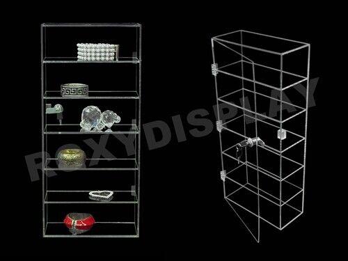 Clear Acrylic Display Tower Case #JW-AD-F1022