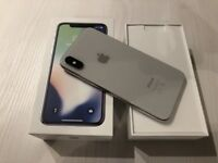Apple iPhone X - 64GB - Silver (Unlocked) A Grade