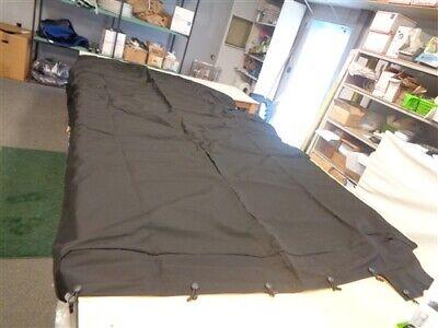 "RINKER 236 BOWRIDER COCKPIT COVER 120007008 BLACK 160"" L X 99"" W MARINE BOAT"