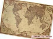Large World Map