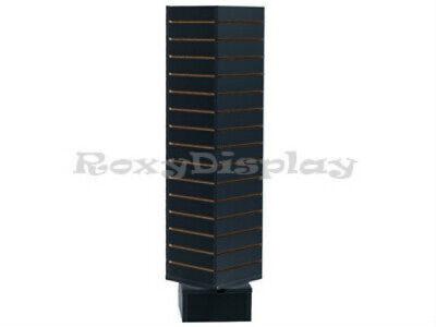 Slatwall Unit Black Color Showcase Display Store Fixture Sc-swc1212bk