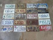 Old License Plates Lot