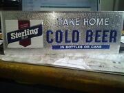 Sterling Beer Sign