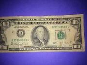 Old 100 Dollar Bill