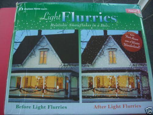 light flurries ebay. Black Bedroom Furniture Sets. Home Design Ideas