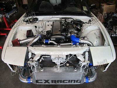 CXRacing 1JZ-GTE-VVTI 1JZ Engine Swap Kit + Intercooler For 240SX S13 S14  segunda mano  Embacar hacia Argentina